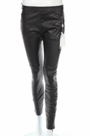 Дамски кожен панталон Armani Collezioni