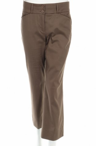 Дамски панталон Cambio, Размер M, Цвят Кафяв, 57% памук, 38% полиестер, 5% еластан, Цена 15,25лв.