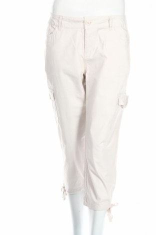 Γυναικείο παντελόνι Caribbean Joe, Μέγεθος M, Χρώμα  Μπέζ, 97% βαμβάκι, 3% ελαστάνη, Τιμή 3,71€