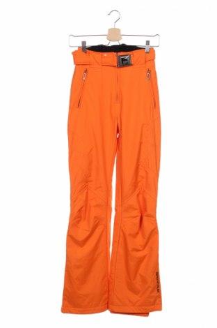 Дамски панталон за зимни спортове Sportalm, Размер XXS, Цвят Оранжев, 90% полиамид, 10% полиуретан, Цена 17,64лв.
