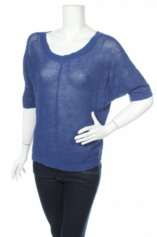 Дамски пуловер Loft By Ann Taylor, Размер S, Цвят Син, Цена 3,50лв.