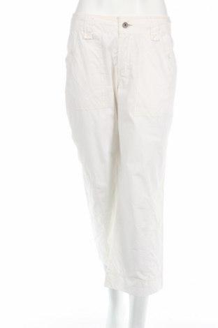 Дамски спортен панталон Nile, Размер M, Цвят Бял, 100% памук, Цена 11,96лв.