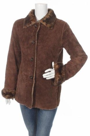 Дамско кожено палто New York & Company