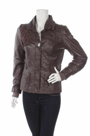 Dámska kožená bunda  Alba Moda
