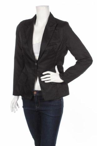 Дамско сако, Размер M, Цвят Черен, 65% памук, 35% полиестер, Цена 67,60лв.