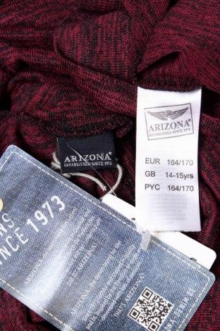 Детска блуза Arizona, Размер 14-15y/ 168-170 см, Цвят Червен, 50% полиестер, 45% вискоза, 5% еластан, Цена 4,32лв.