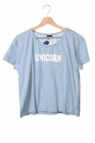 Tricou de copii Buffalo, Mărime 15-18y/ 170-176 cm, Culoare Albastru, Bumbac, Preț 31,11 Lei