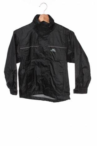 Детско спортно яке Trespass, Размер 4-5y/ 110-116 см, Цвят Черен, Полиестер, Цена 23,80лв.