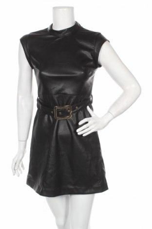 Kožené šaty  Zara Trafaluc