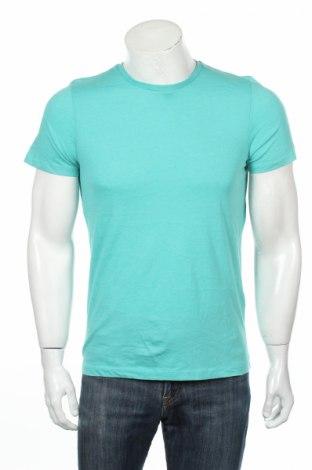 Мъжка тениска Mr. F, Размер S, Цвят Син, 60% памук, 40% полиестер, Цена 14,84лв.