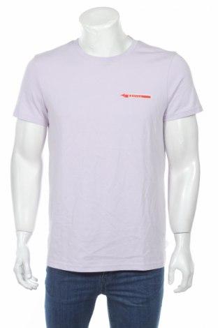 Мъжка тениска Review, Размер M, Цвят Лилав, Цена 14,84лв.