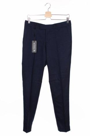 Мъжки панталон Tiger Of Sweden, Размер M, Цвят Син, 98% вълна, 2% еластан, Цена 186,00лв.