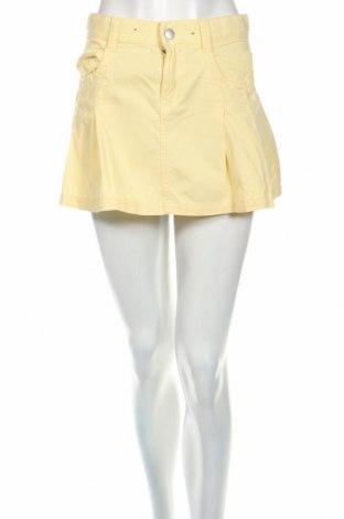 Φούστα United Colors Of Benetton, Μέγεθος XS, Χρώμα Κίτρινο, Τιμή 5,31€