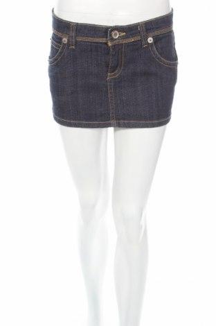 Пола Zara Trafaluc, Размер S, Цвят Син, 98% памук, 2% еластан, Цена 9,36лв.