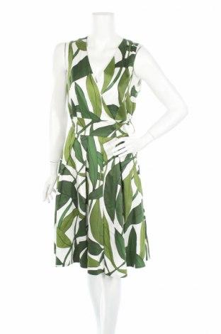 Rochie Marc Cain, Mărime XL, Culoare Verde, 97% bumbac, 3% elastan, Preț 423,70 Lei