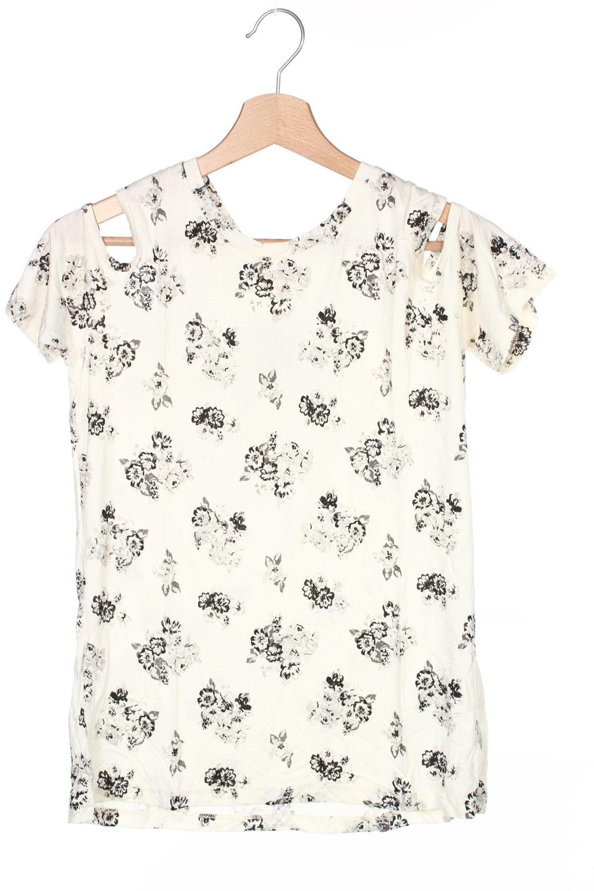 Детска блуза Buffalo, Размер 14-15y/ 168-170 см, Цвят Екрю, Вискоза, Цена 3,24лв.