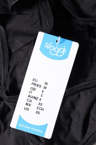 Бикини Sloggi, Размер S, Цвят Черен, 88% полиамид, 12% еластан, Цена 19,50лв.
