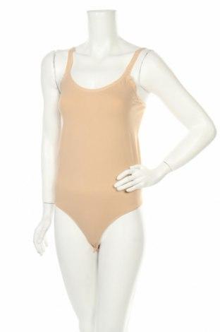 Боди Vero Moda, Размер L, Цвят Бежов, 94% полиамид, 6% еластан, Цена 26,80лв.