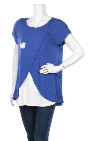 Γυναικεία μπλούζα Belly Button, Μέγεθος XXL, Χρώμα Μπλέ, 95% βισκόζη, 5% ελαστάνη, Τιμή 16,12€