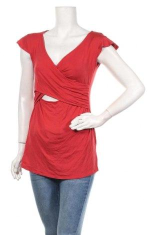Дамска блуза Envie De Fraise, Размер M, Цвят Червен, 96% вискоза, 4% еластан, Цена 19,60лв.