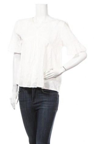 Дамска блуза Esprit, Размер S, Цвят Бял, 94% памук, 6% вискоза, Цена 13,34лв.