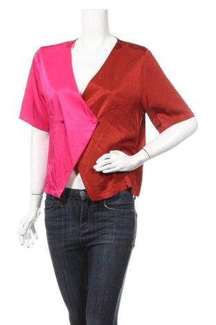 Дамска блуза Gestuz, Размер L, Цвят Червен, 97% вискоза, 3% еластан, Цена 62,30лв.