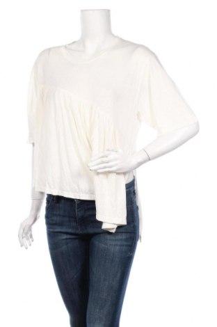 Дамска блуза Iro, Размер L, Цвят Екрю, 70% лиосел, 30% лен, Цена 33,80лв.