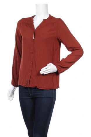 Γυναικείο πουκάμισο Jacqueline De Yong, Μέγεθος M, Χρώμα Καφέ, Βισκόζη, Τιμή 5,93€