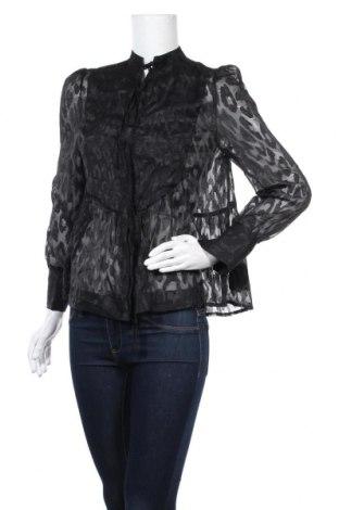 Дамска блуза Lost Ink, Размер XS, Цвят Черен, Полиестер, Цена 22,68лв.