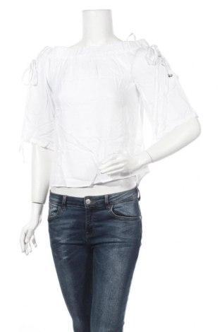 Γυναικεία μπλούζα Melrose, Μέγεθος S, Χρώμα Λευκό, Βισκόζη, Τιμή 7,17€