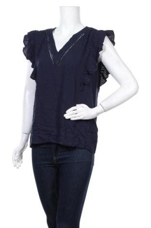 Γυναικεία μπλούζα Modstrom, Μέγεθος S, Χρώμα Μπλέ, Βισκόζη, Τιμή 8,62€