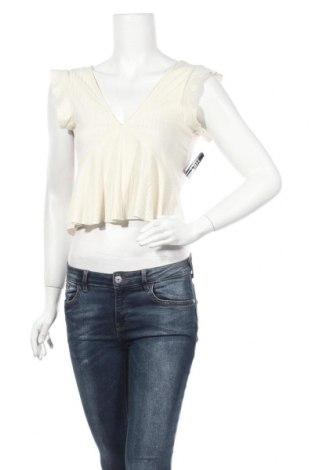 Γυναικεία μπλούζα Nly Trend, Μέγεθος XS, Χρώμα  Μπέζ, 60% πολυεστέρας, 32% βισκόζη, 8% ελαστάνη, Τιμή 6,66€