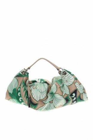 Дамска чанта Coccinelle, Цвят Многоцветен, Текстил, естествена кожа, Цена 103,60лв.