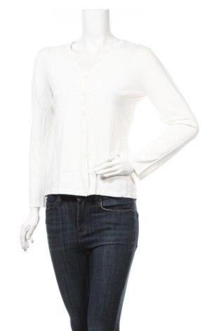 Дамска жилетка, Размер S, Цвят Бял, 63% вискоза, 37% полиамид, Цена 6,04лв.