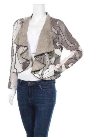 Γυναικεία ζακέτα Carla Du Nord, Μέγεθος L, Χρώμα Γκρί, 100% λινό, Τιμή 11,82€