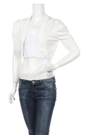 Дамска жилетка Grace, Размер S, Цвят Бял, 80% вискоза, 20% полиамид, Цена 9,45лв.