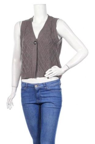 Дамска жилетка Zab Company, Размер M, Цвят Сив, 60% памук, 40% полиакрил, Цена 5,80лв.
