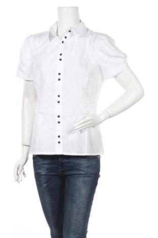 Дамска риза Colett, Размер L, Цвят Бял, 60% памук, 40% полиестер, Цена 45,82лв.