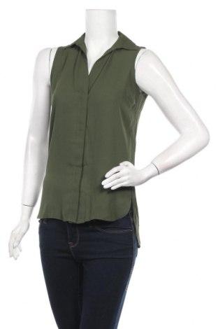 Дамска риза Dorothy Perkins, Размер XS, Цвят Зелен, Полиестер, Цена 24,36лв.