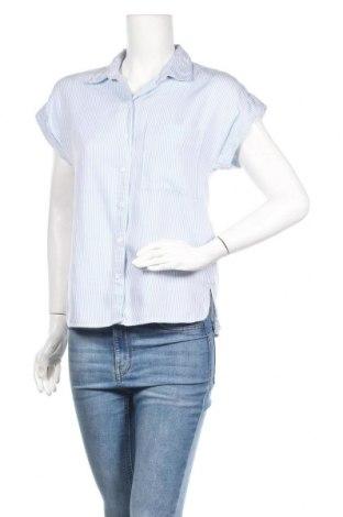 Дамска риза Esprit, Размер XS, Цвят Син, Лиосел, Цена 25,52лв.