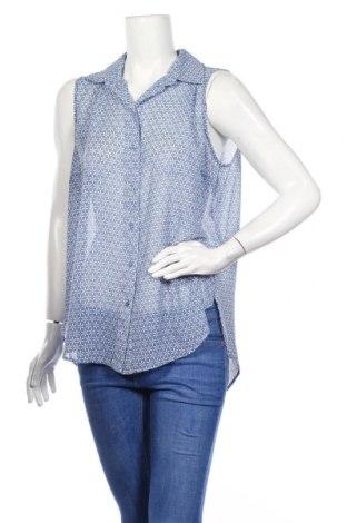 Дамска риза H&M, Размер L, Цвят Син, Полиестер, Цена 24,31лв.
