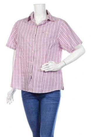 Дамска риза Schoffel, Размер L, Цвят Многоцветен, 65% полиестер, 35% памук, Цена 23,00лв.