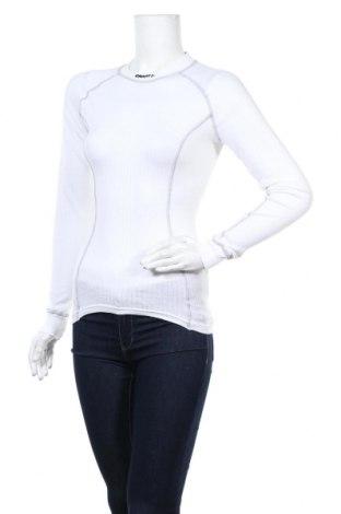 Дамска спортна блуза Craft, Размер S, Цвят Бял, Полиестер, Цена 40,95лв.