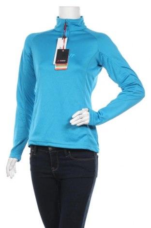 Дамска спортна блуза Maier Sports, Размер S, Цвят Син, Полиестер, Цена 56,55лв.