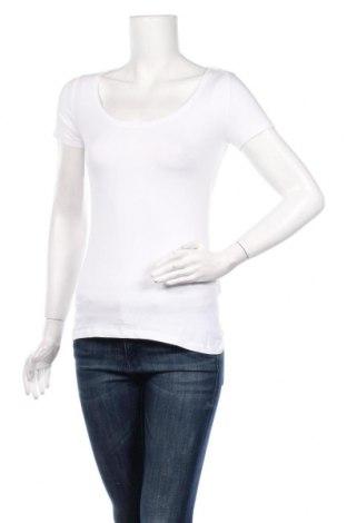 Дамска тениска Anna Field, Размер S, Цвят Бял, 95% полиестер, 5% еластан, Цена 14,50лв.