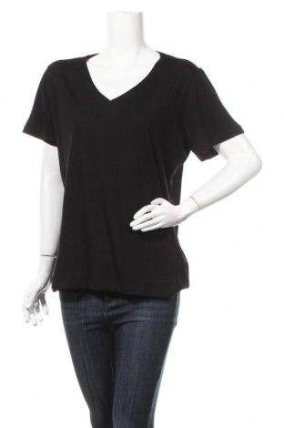 Дамска тениска Cream, Размер XL, Цвят Черен, 50% памук, 50% модал, Цена 45,82лв.