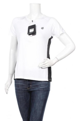 Дамска тениска Dare 2B, Размер M, Цвят Бял, 90% полиестер, 10% еластан, Цена 25,50лв.