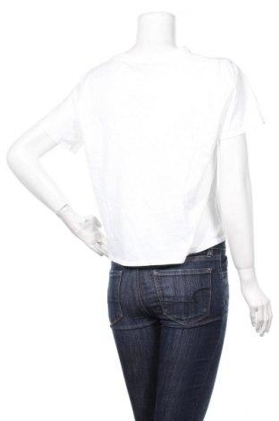 Дамска тениска Desigual, Размер XL, Цвят Бял, Памук, Цена 34,22лв.