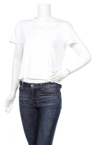 Дамска тениска Desigual, Размер L, Цвят Бял, Памук, Цена 34,22лв.