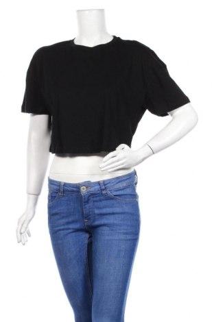 Дамска тениска Even&Odd, Размер S, Цвят Черен, Памук, Цена 16,82лв.